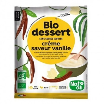 "Biocreme vanille ""natali"""
