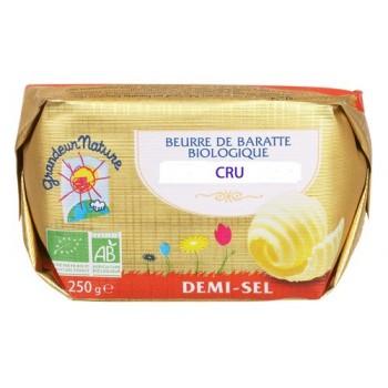 "Beurre cru 1/2 sel 250g""le..."