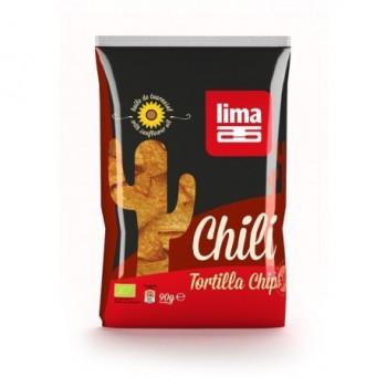Tortilla chips chili Lima