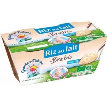 """Riz au lait brebis""""le gall"""""""