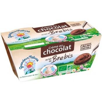 Creme chocolat lait...