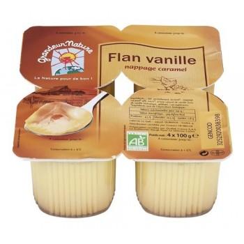 Flan vanille caramel...