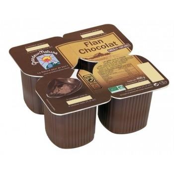 Flan chocolat equitable...