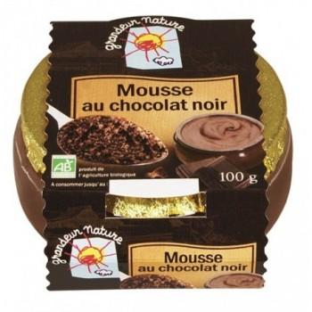 Mousse chocolat noir...