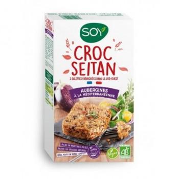"Croc'seitan aubergine  ""soy"""