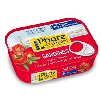 Sardines tomate/olive Phare...