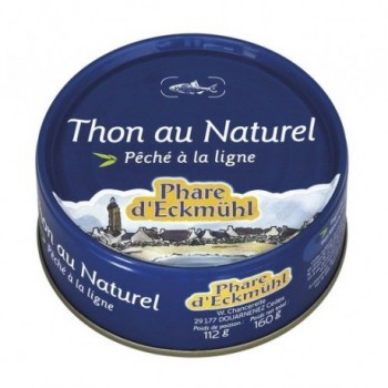 "Thon naturel 160g""phare e."""