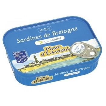 Sardines au naturel Phare...