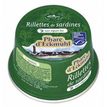 Rillettes sardines aux...