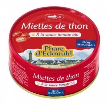 Miettes thon listao tomates...