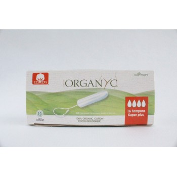 "Tampon super plus ""organyc"""