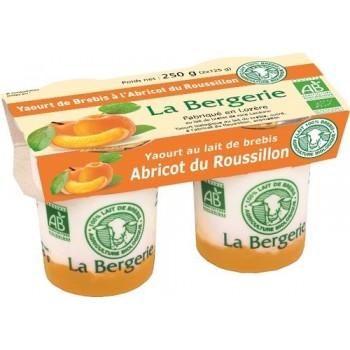 Yaourt brebis abricot x 2...