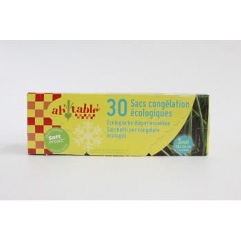30 sacs congelation 18x25 cm