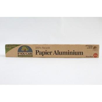 """Papier alluminium""""if you care"""""""
