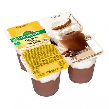 Liegeois chocolat x4...