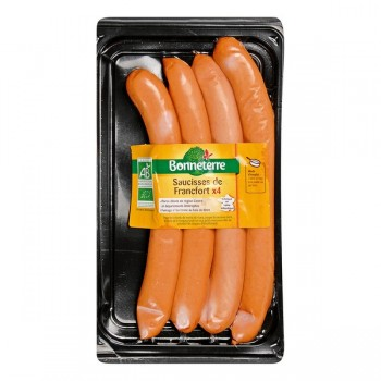 Saucisses francfort x 4...