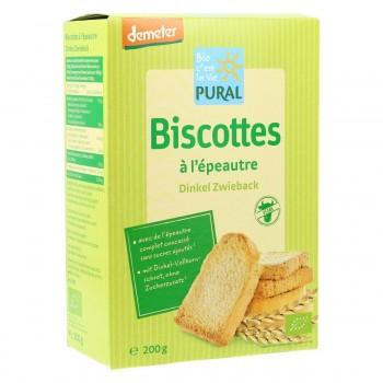 "Biscottes épeautre ""pural"""