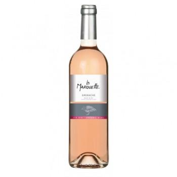 Vin rosé pays d'oc 75cl La...
