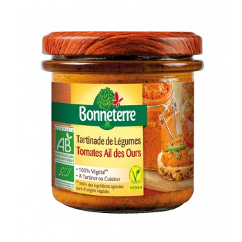 Tartinade tomates/ail ours...