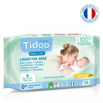 Lingettes calendula Tidoo
