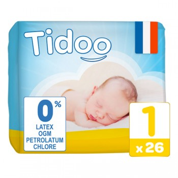 Couches newborn 2/5kg Tidoo