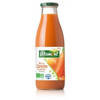 "Jus carottes 75cl""vitamont"""