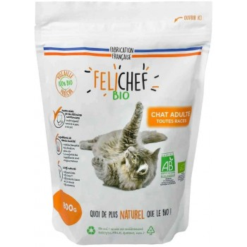 Croquettes chat adulte 800g...