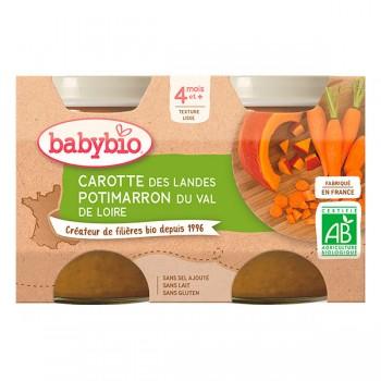 Pots carotte/potimarron x 2...