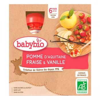 Gourde pomme/fraise/vanille...