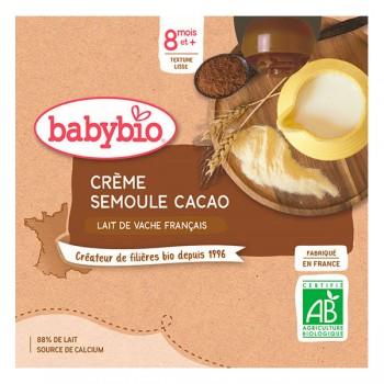 Creme semoule cacao Babybio