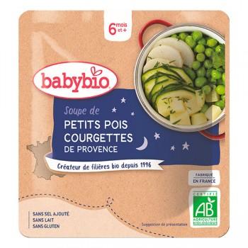 Soupe p.pois/courgette Babybio