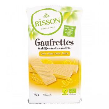 Gaufrettes citron Bisson