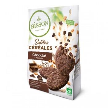 Sablés céréales chocolat...
