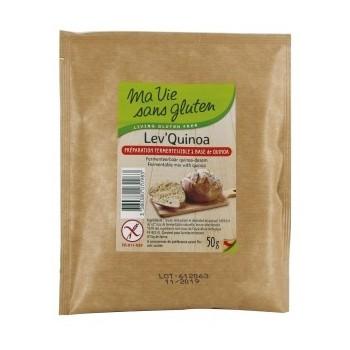 """Lev'quinoa 50g""""ma vie sans..."""