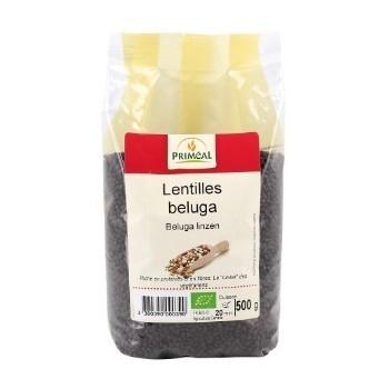"""Lentilles beluga 500g""""primeal"""""""