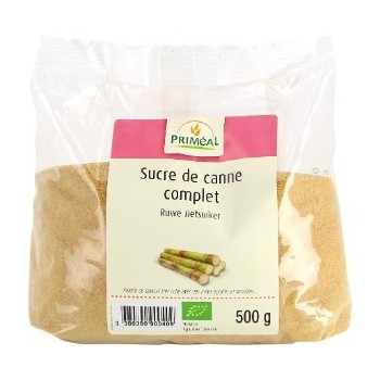 Sucre canne cplt 500g...