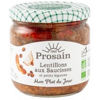"""Lentillons saucisses """"prosain"""""""