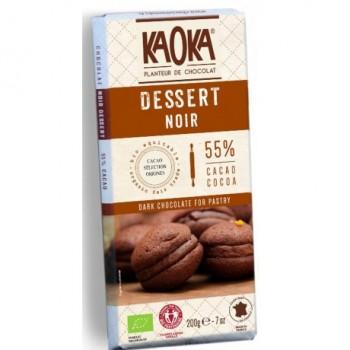 "Choc.noir dessert 55% ""kaoka"""