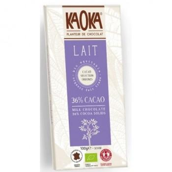 "Choc.lait 36%  ""kaoka"""