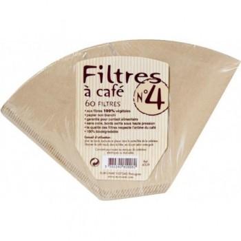 Filtres à café n°4 x60