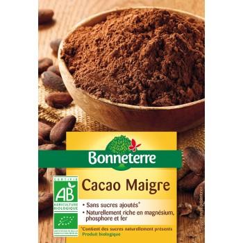 Cacao maigre Bonneterre