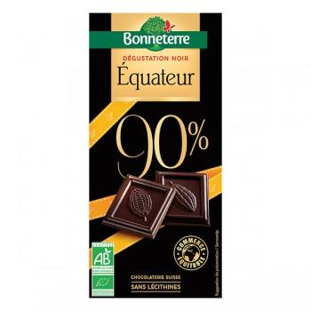 Chocolat noir Équateur 90%...