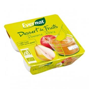 Dessert pomme/poire Evernat