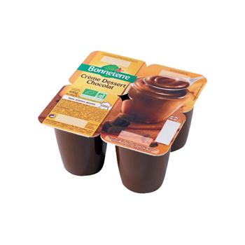 Crème dessert chocolat...