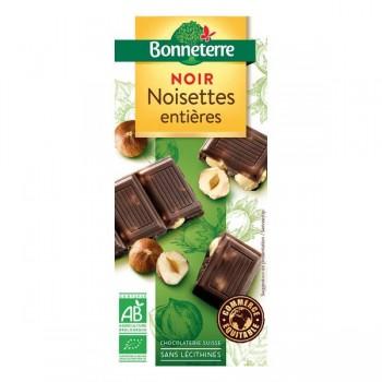 Chocolat noir noisettes...