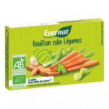 Bouillon cubes légumes Evernat