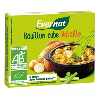 Bouillon cube volaille Evernat