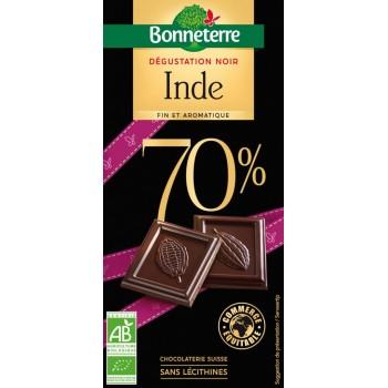 Chocolat noir 70% origine...
