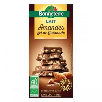 Chocolat lait amandes...