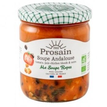 Soupe andalouse tomates...